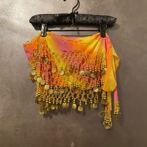 Belly dancing skirt size small